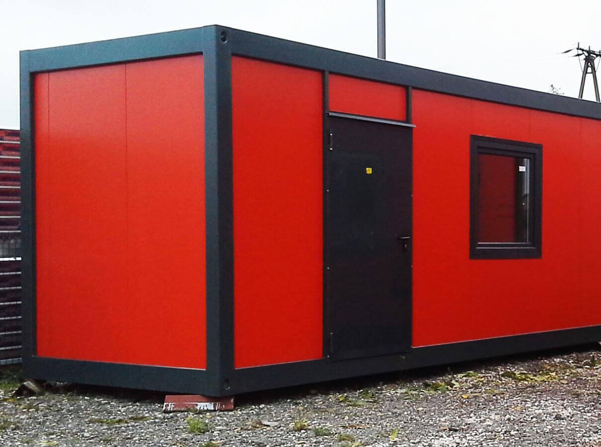 oferujemy kontenery biurowe z płyty warstwowej